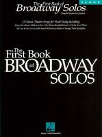 The First Book Of Broadway Solos Tenor Edition Vocal Collection Book N 000740083