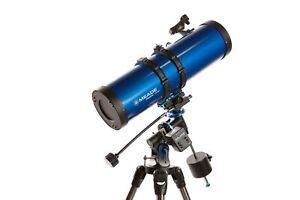Details about Meade Polaris Motorised 130MD EQ3 German Equatorial Astro  Reflector Telescope