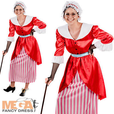 Old Mother Hubbard Ladies Fancy Dress Fairytale Adults World Book Day Costume