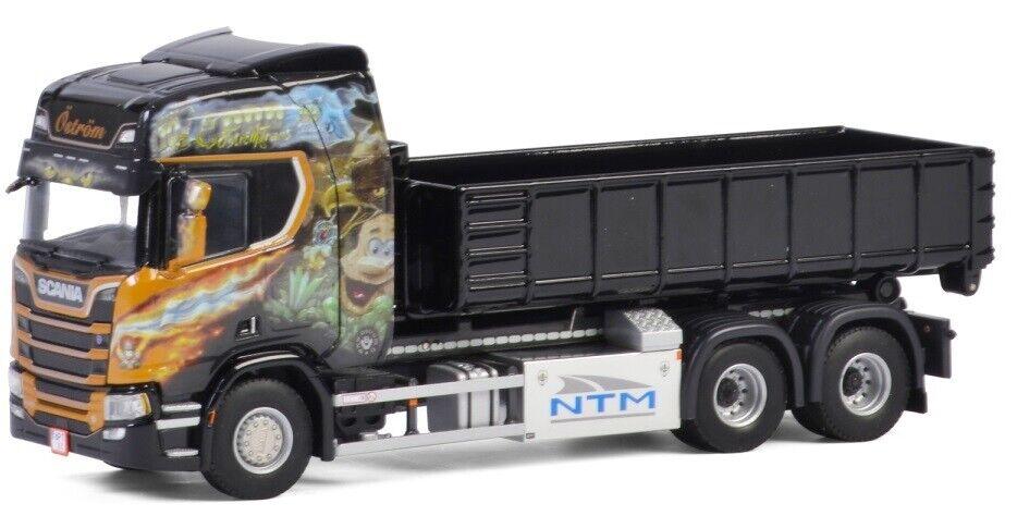 WSI01-2464 - Camion avec benne déposable SCANIA R Highline CR20H OSTROM - 1 50
