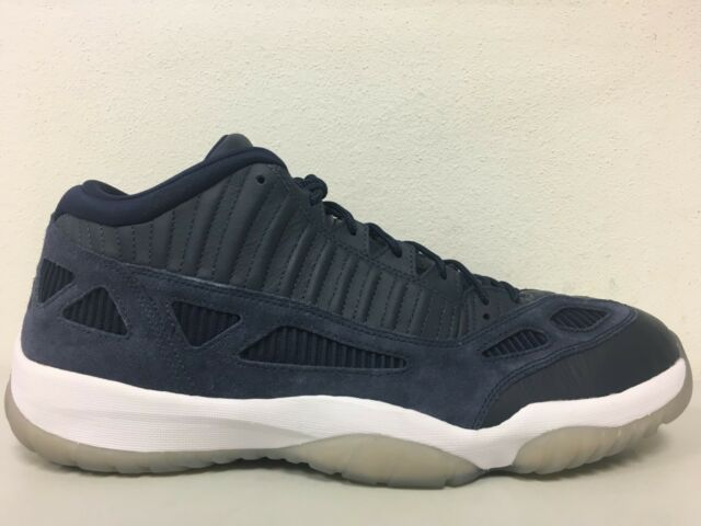 competitive price 0de65 61ca9 Nike Air Jordan 11 Retro Low IE Obsidian White XI 919712 400 Size 16