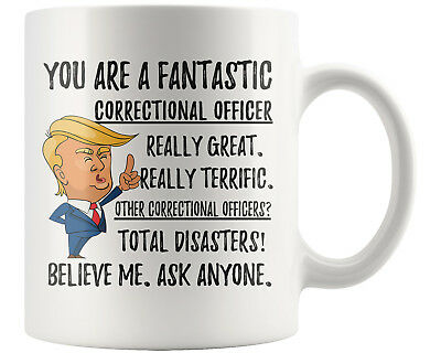 Funny Correctional Officer Coffee Mug
