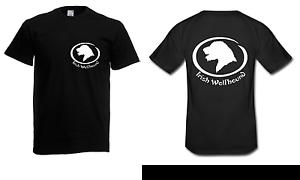 T-shirt da uomo Irish Wolfhound fino a 5xl