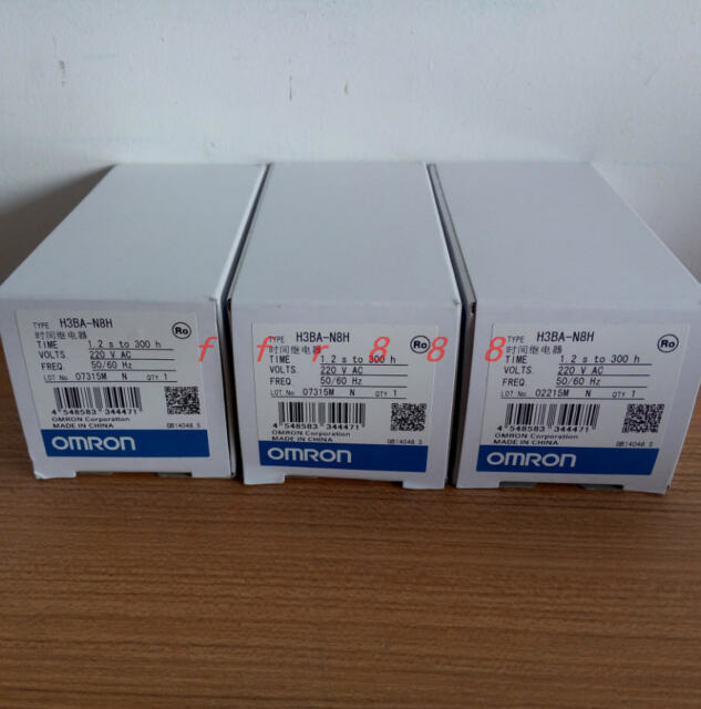 Omron Solid-State Timer H3CA-8H AC220V 1-Year Warranty ! New In Box