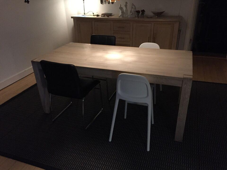 Spisebord, Eg, b: 90 l: 180