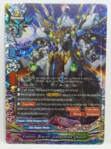 Gargantua Quasar S-CBT01//0020EN RR N-Comme neuf Future Card BUDDYFIGHT Galaxy Braver