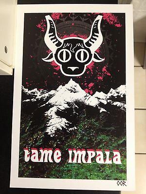 "Tame Impala 17""x26"" band poster print"