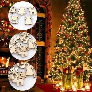 100PCS-fai-da-te-artigianale-Natale-Xmas-truciolo-Appeso-Tree-Decorazioni-Arredamento-Casa-2cm