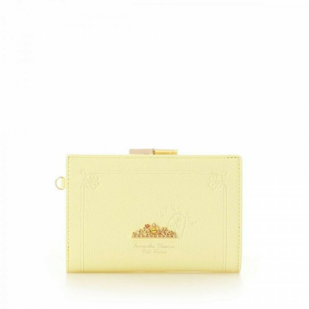 [Belle] Disney Princess Series x Samantha Thavasa Folding Wallet Japan Limited