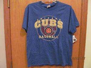 6b6511f3d4d CHICAGO CUBS Baseball Tee Shirt~MEN S Size XL~New W Tags ...