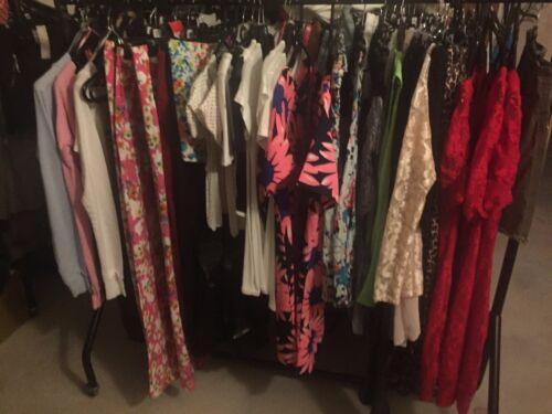 NEW LADIES WHOLESALE JOB LOT BUNDLE RAIL MIXED CLOTHES  CAR BOOT 20 ITEMS 12