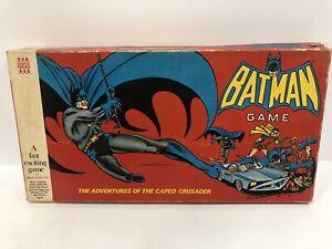"Vintage Batman Denys Fisher 1976 Board Game Rare ""Caped Crusader"""
