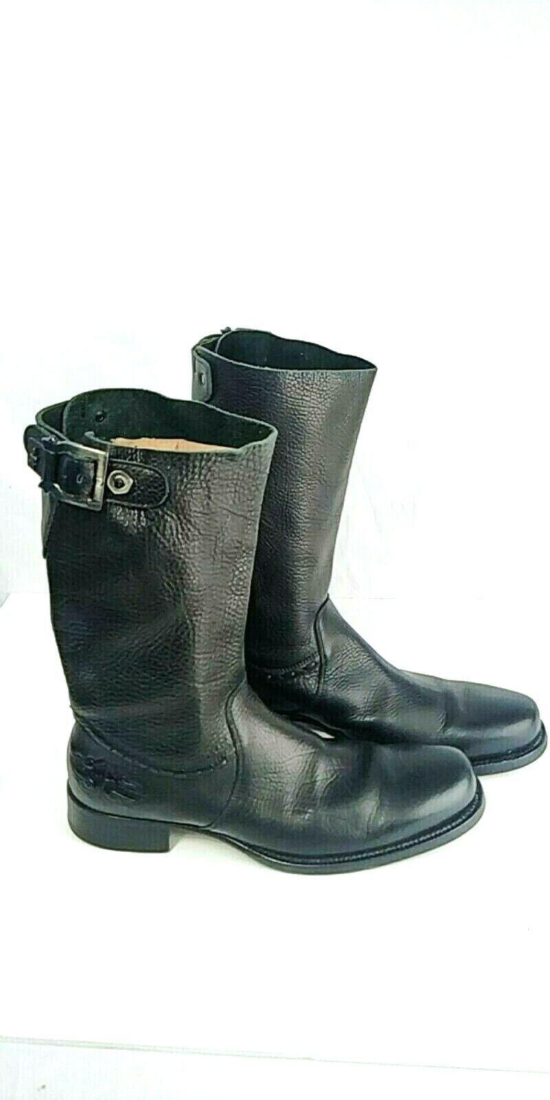 Authentic Cesare Paciotti US 9 Deer Deer Deer Skin Leather Stiefel Italian Designer schuhe 3753f4