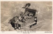 Pimm Son & Co Ltd Guildford House Furnishers Advertising Air Aerial View RP pc