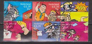 NVPH-Nederland-Netherlands-1994-1998-sheet-vijf-maal-Cartoons-2001-Pays-Bas