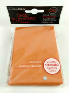 Ultra-Pro-50-Piece-Cards-Deck-Protector-Sleeves-Orange-Magic