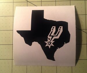 San Antonio Spurs Decal For Your Yeti Rambler Tumbler