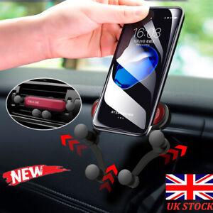 Universal-Gravity-Car-Air-Vent-Mount-Phone-Holder-Bracket-Cradle-360-Rotation