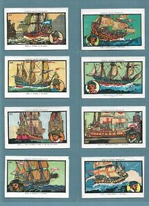 FAMOUS BRITISH BOATS SET FROM SAVOY PRODUCTS