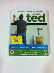 TED-MARK-WAHLBERG-Limited-Ed-Steelbook-Blu-ray-LATINO-SEALED-SOLD-OUT