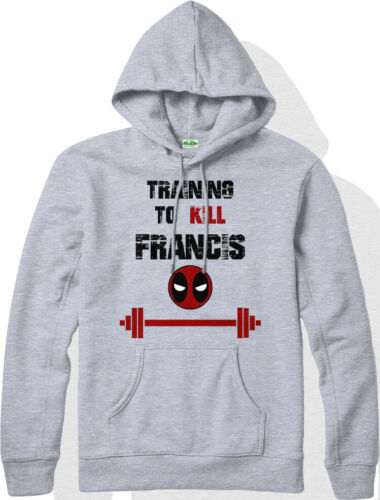 Deadpool Hoodie Training to Kill Francis Hooded Jumper Marvel Comics Inspired