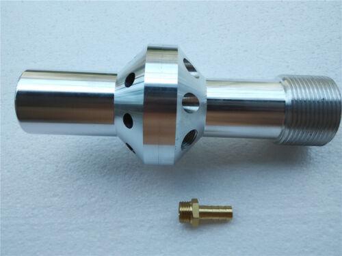 Water Induction Nozzle Dustless Sandblaster Venturi Lined Boron//Tungsten Carbide