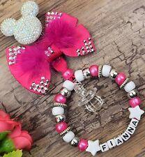 Personalizado impresionante charm cochecito in para bebé niña rosa y blanco