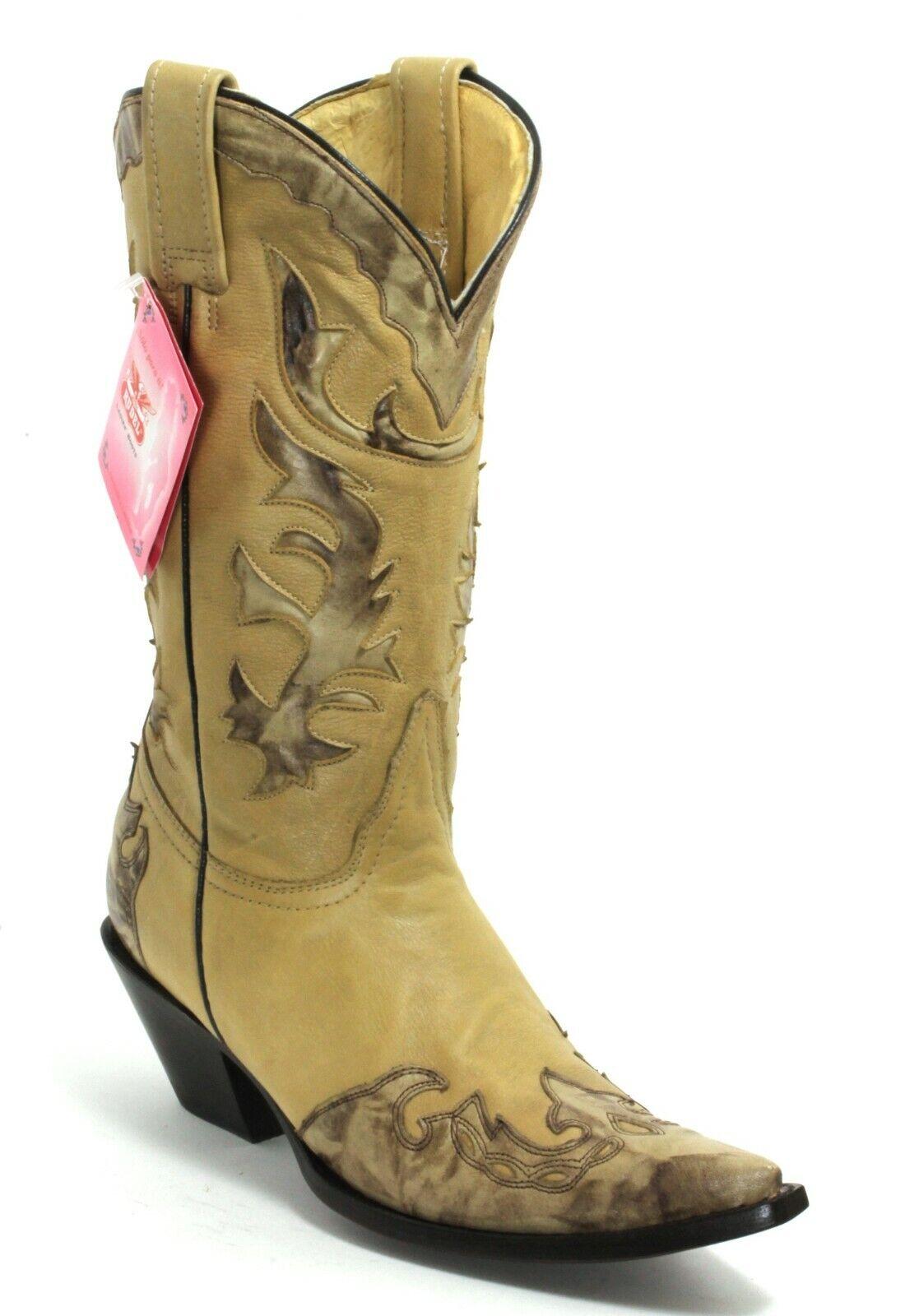 239 Cowboystiefel Westernstiefel Texas Rudel Catalan Style Stiefel Fashion 39    | Züchtungen Eingeführt Werden Eine Nach Der Anderen