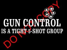 2nd amendment Gun shotgun hunting Group Sticker Decal Cars Laptops Bullet Holes