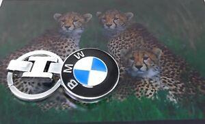 BMW keychain Luxurious 3 Parts Folding