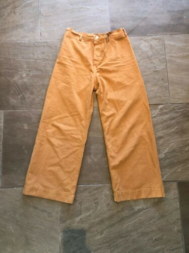 Jesse Kamm Sailor Pants Wheat Size 14