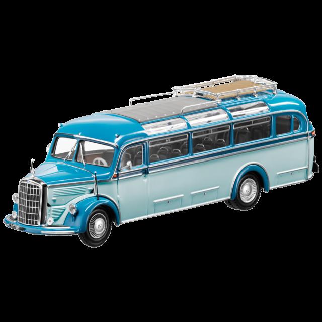 Mercedes Benz O 3500 Oldtimer Bus 1949 Blue 1 43 Minichamps Ob Ebay