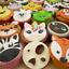 Animaux Visage Icing Cutter Fondant Moule Cookies Gâteau Décoration Mold Sugarcraft