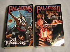 Joel Rosenburg Fantasy Paperback Book Lot of 2 Paladins 1 & 2 Knight Moves Baen