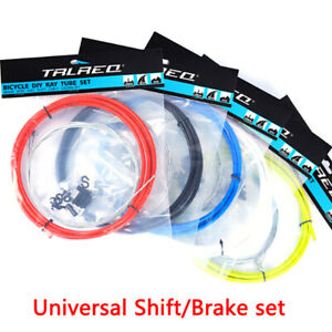 Universal-Brake-Shift-Gear-Cable-amp-Housing-Group-Sets-For-Road-Bike-Road-BicyFJ