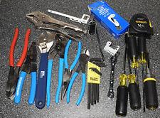 Hvac Hand Tools Lot Klein Hd231 9ne Channellock 337 420 317 Screwdrivers Pliars