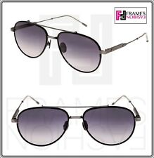 c1f0cc168b BOTTEGA VENETA ABSOLUTE BV0076S Brushed Gunmetal Titanium Black Sunglasses  0076