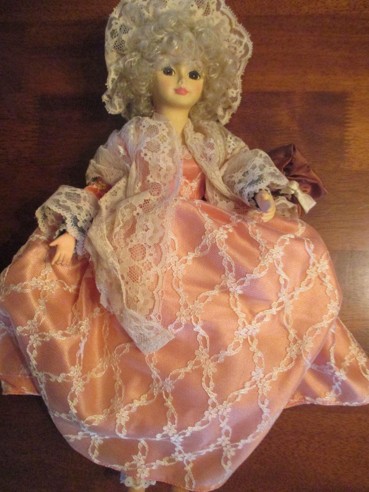 Vintage 1986 BRINNS Collectible Doll MARTHA CUSTIS WASHINGTON Limited Edition