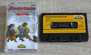 Kinderliederhitparade-Folge-3-1989-MC-Kinderchoere-Volkslieder-gebraucht