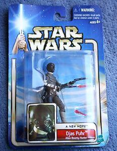 Figura De Star Wars Una Nueva Esperanza Djas Puhr Bounty Hunter Colección 2