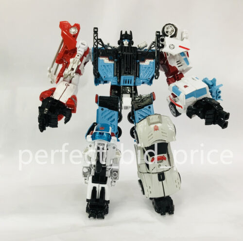 Transformers Defensor Devastator 6 In 1 Action Figure KO New Cool Autobot Toys