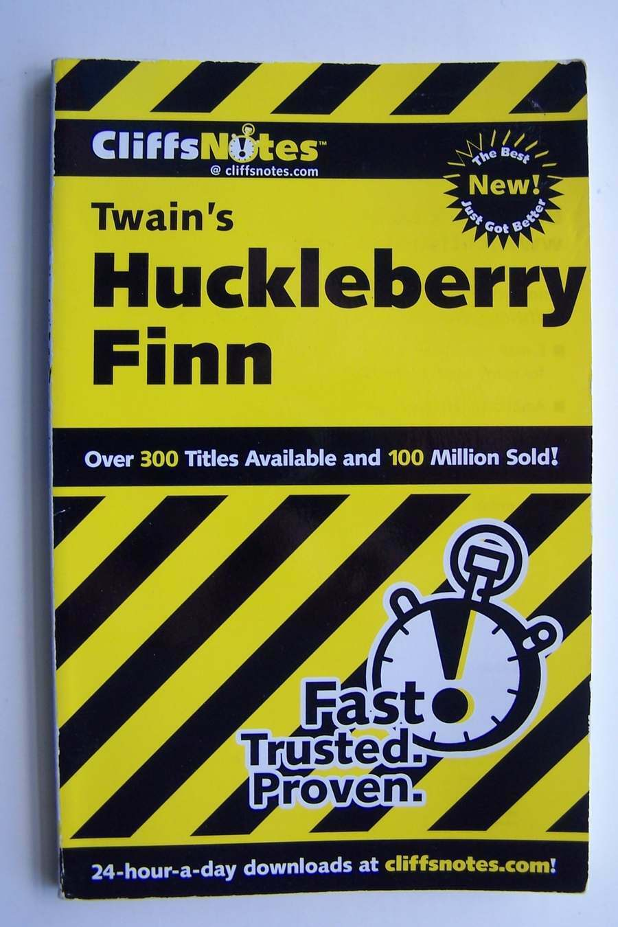 CliffsNotes on Twain's The Adventures of Huckleberry Fi