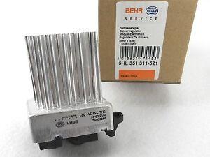 orig. HELLA / BEHR für BMW E46 Gebläseregler Lüftungssteuerung 3er
