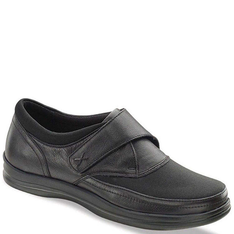 Para mujeres mujeres mujeres Zapatos Emmy Negro Correa de monje Apex ancho ancho de tamaño comodidad  130 venta al por menor  ventas en linea