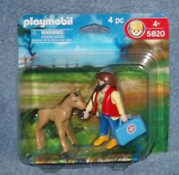 Playmobil Veterinarian With Foal Figure Set 5820