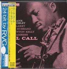 Hank Mobley - Roll Call BLUE NOTE RVG 1ST PRESS JAPAN MINI LP CD Freddie Hubbard