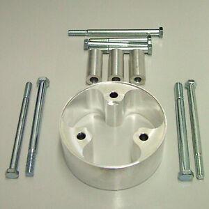 Powermaster 982 Aluminum Motor Plate Spacer Kit Chevy Small Block Big Block