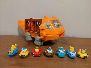 Octonauts-Gup-G-Mobile-Speeders-Launcher-Vehicle-Play-Set-7-Gup-Speeders