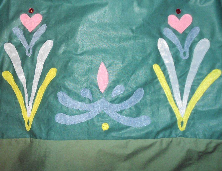 FROZEN Princess ANNA SUMMER ADULT ADULT ADULT Cosplay COSTUME SKIRT pinkmaling Gems Womens 00de1b