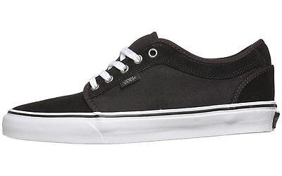 Vans CHUKKA LOW Black Pewter White Casual Skate VN 0NKABH4 (411) Men's Shoes   eBay